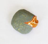 鉱物3 a mineral | 2021 | 100×100×45mm | washi foundation acrylic