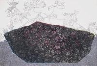 灰の山 ashes mountain | 2014 | 190×270mm | pastel, pencil on paper