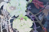 君の庭 your garden(4)| 2020 - 2021 | 530×803mm | oil on canvas