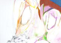 カラフル線 colorfull | 2006 | 210×297mm | watercolor, color pencil, oil pastel on paper