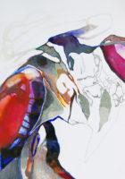 甲殻類 crustacean | 2006 | 297×210mm | watercolor, color pencil, oil pastel on paper