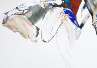 積乱雲 cumulonimbus | 2006 | 210×297mm | watercolor, color pencil, oil pastel on paper