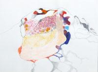 切り口 cut end | 2006 | 10.9×14.5cm | watercolor, oilpastel, pencil on paper