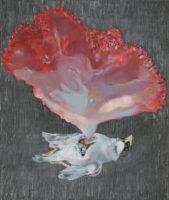 ハート heart | 2017 | 455×380mm | oil on canvas