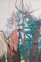 始まりの木 | 2020 | 803×530 mm | oil on canvas