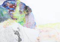 丘 hill | 2006 | 210×297mm | watercolor, color pencil, oil pastel on paper