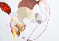 抱っこ hug | 2006 | 210×297mm | watercolor, color pencil, oil pastel on paper
