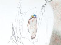 ノイズ noise | 2006 | 10.9×14.5cm | pencil, color pencil on paper
