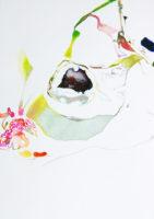 ピクニックにて on a picnic | 2006 | 297×210mm | watercolor , color pencil , oil pastel on paper