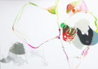 ピクニックにて2 on a picnic 2 | 2006 | 210×297mm | watercolor, color pencil, oil pastel on paper