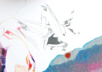 雲を動かす she moves clouds | 2006 | 210×297mm | watercolor, color pencil, oil pastel on paper