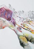 急斜面 steep slope | 2006 | 297×210mm | watercolor, color pencil, oil pastel on paper