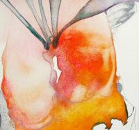 熱帯 the tropics | 2006 | 13.2×12.5cm | watercolor, color pencil on paper